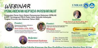 webinar prodi pendidikan biologi FKIP UMRAH