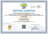 Sertifikat Akreditasi Program Studi Pendidikan Biologi FKIP 2020-2025